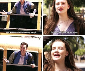 13 reasons why, hannah baker, and justin foley image
