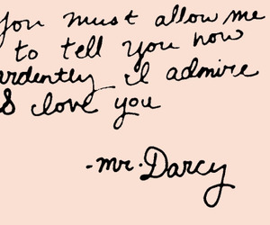 pride and prejudice, quotes, and love image
