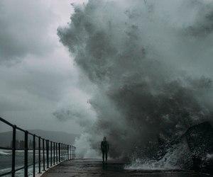 ocean, waves, and water image