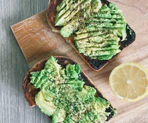 food, avocado, and fitness image