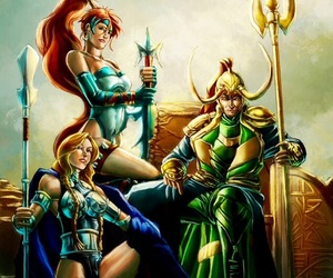 artemis, valkyrie, and DC image