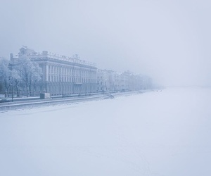 russia, snow, and wallpaper image