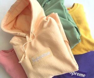 supreme, fashion, and pink image