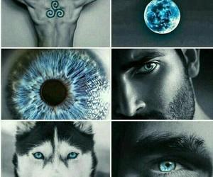 teen wolf, blue, and derek hale image