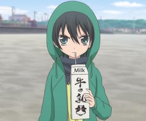 music, anime school, and fukumenkei noise image