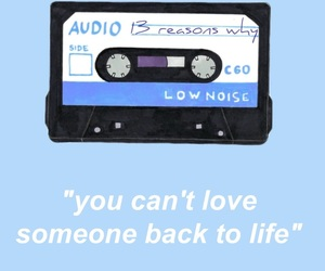 cassette and quote image