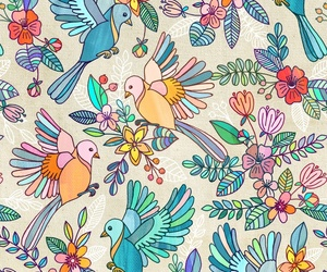 background, bird, and colorful image