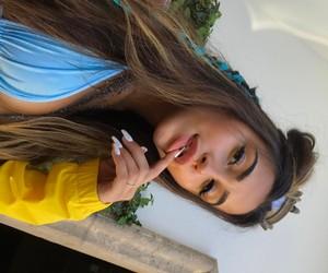 girl, makeup, and claudia tihan image
