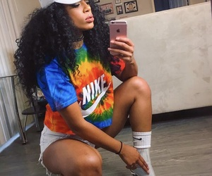 curly hair, fashion, and cute image