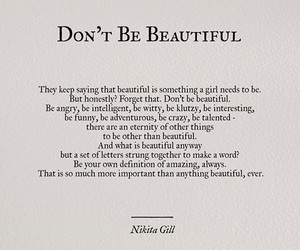beautiful, girl power, and poetry image