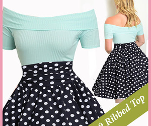pinup, retro dress, and pinup dress image
