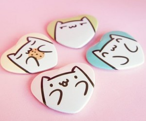 badges, cat, and cats image