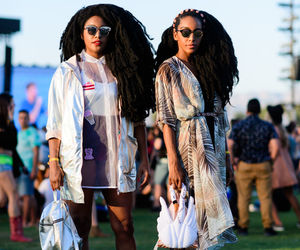 Afro, coachella, and fashion image