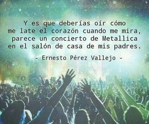 amor, metallica, and frases image