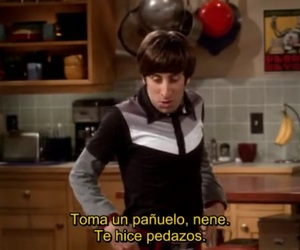 big bang theory, drama queen, and frases image