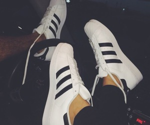 adidas, couple, and Relationship image