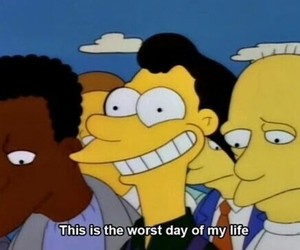 the simpsons, smile, and simpsons image