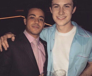 13 reasons why, christian navarro, and dylan minnette image