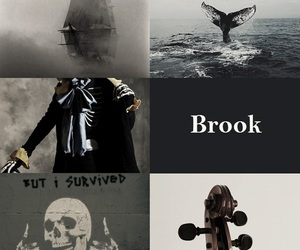 aesthetic, brook, and anime image