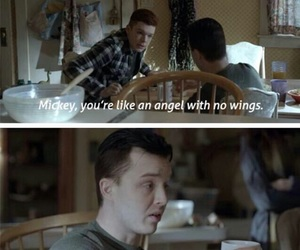 shameless, gallavich, and noel fisher image