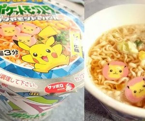 pokemon, food, and noodles image