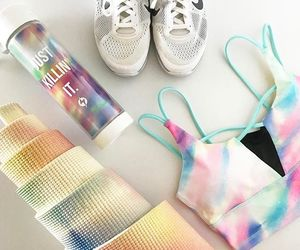 fashion, fitness, and mermaid image