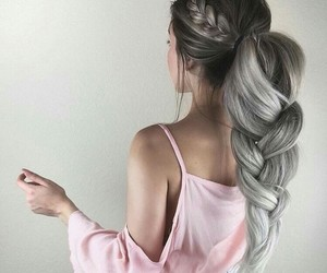 hair, cute, and hairstyle image