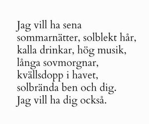summer, love, and swedish image