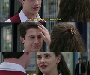 thirteen reasons why, hannah baker, and clay jensen image