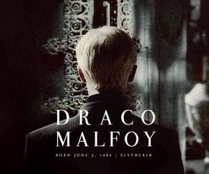 draco malfoy, slytherin, and malfoy image