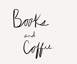 book, coffee, and quotes image