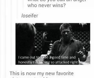 supernatural, lucifer, and funny image