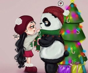 panda and cute image