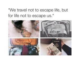life, travel, and passport image
