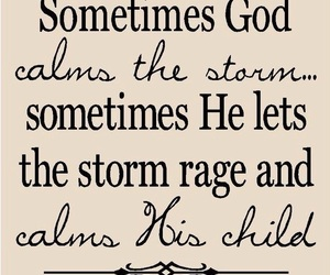 god, storm, and quote image