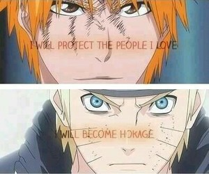 naruto, bleach, and one piece image
