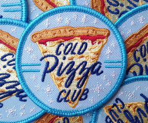 patches and cold pizza club image