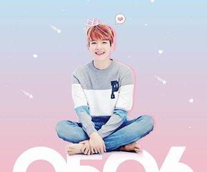 baekhyun, background, and exo image