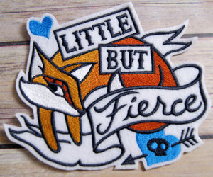 patches and little but fierce image