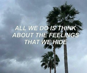 quote, feelings, and halsey image