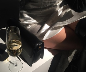 fashion, luxury, and drink image