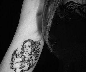 tattoo, art, and Venus image