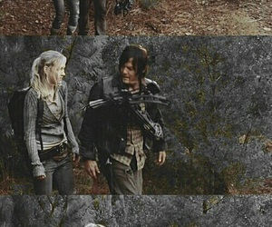 daryl dixon, beth, and the walking dead image