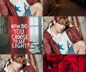 aesthetic, Collage, and red image