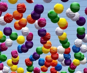 balloons, colors, and vibrant image