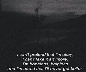 sad, depression, and hopeless image