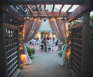 lights and wedding image