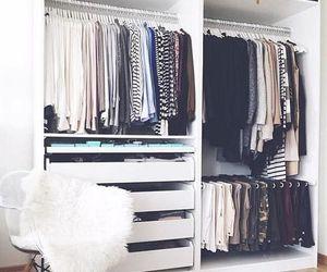 clothes, closet, and home image