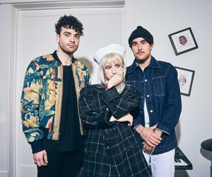 hayley williams, zac farro, and paramore image