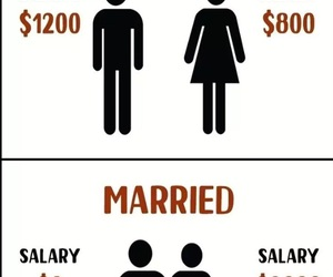couple, dollar, and married image